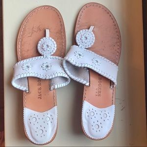 White Jack Roger Wedges